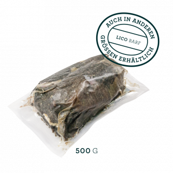 Rind Pansen grün stückig, gefroren 500g