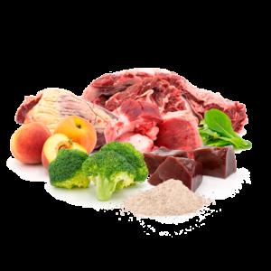 NIVOBA Rind & Hähnchen Vital Mix, gefroren 500g