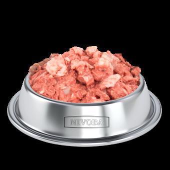 NIVOBA Hähnchenfleisch Würfel, gefroren 1000g